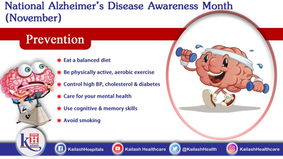 Prevent the risk of Alzheimer's disease by following a healthy lifestyle. Here are some prevention tips.
