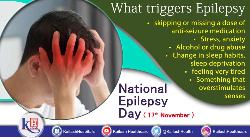 Preventing Epilepsy triggers is the best way to avoid seizures & other related complications