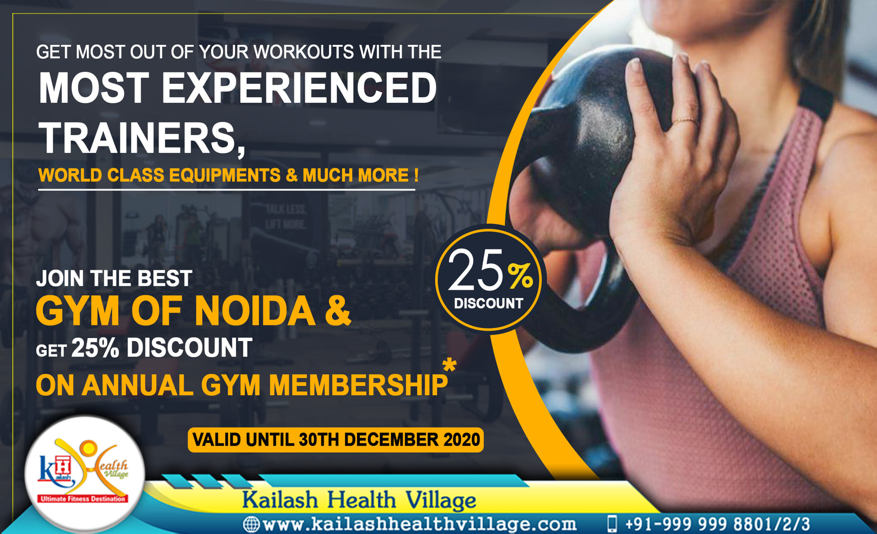 Get the most out of your workouts with best guidance from our experienced Gym Trainers.