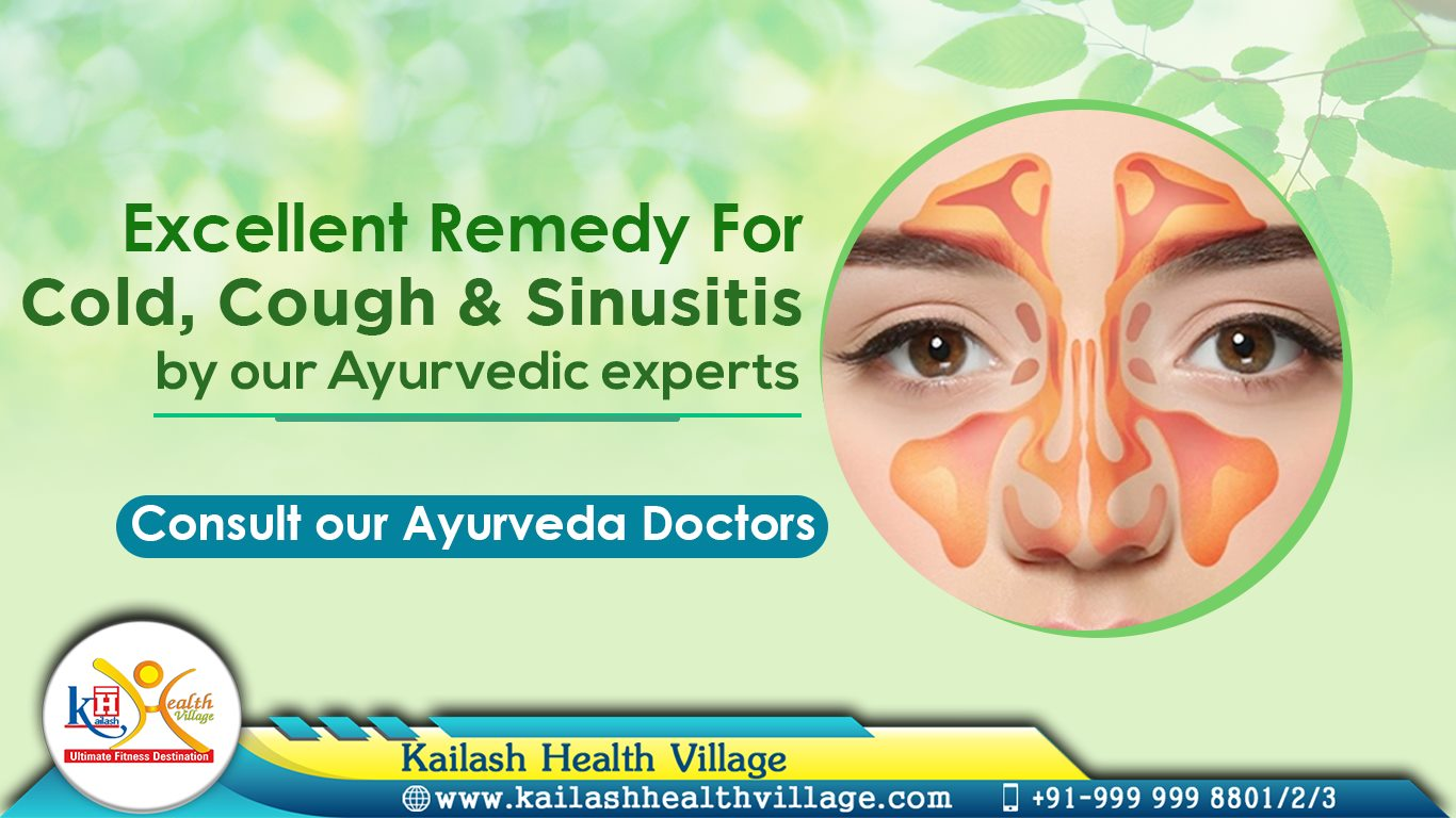 Get effective Ayurveda treatment for Cold, Cough & Sinusitis through our Ayurveda Doctors.
