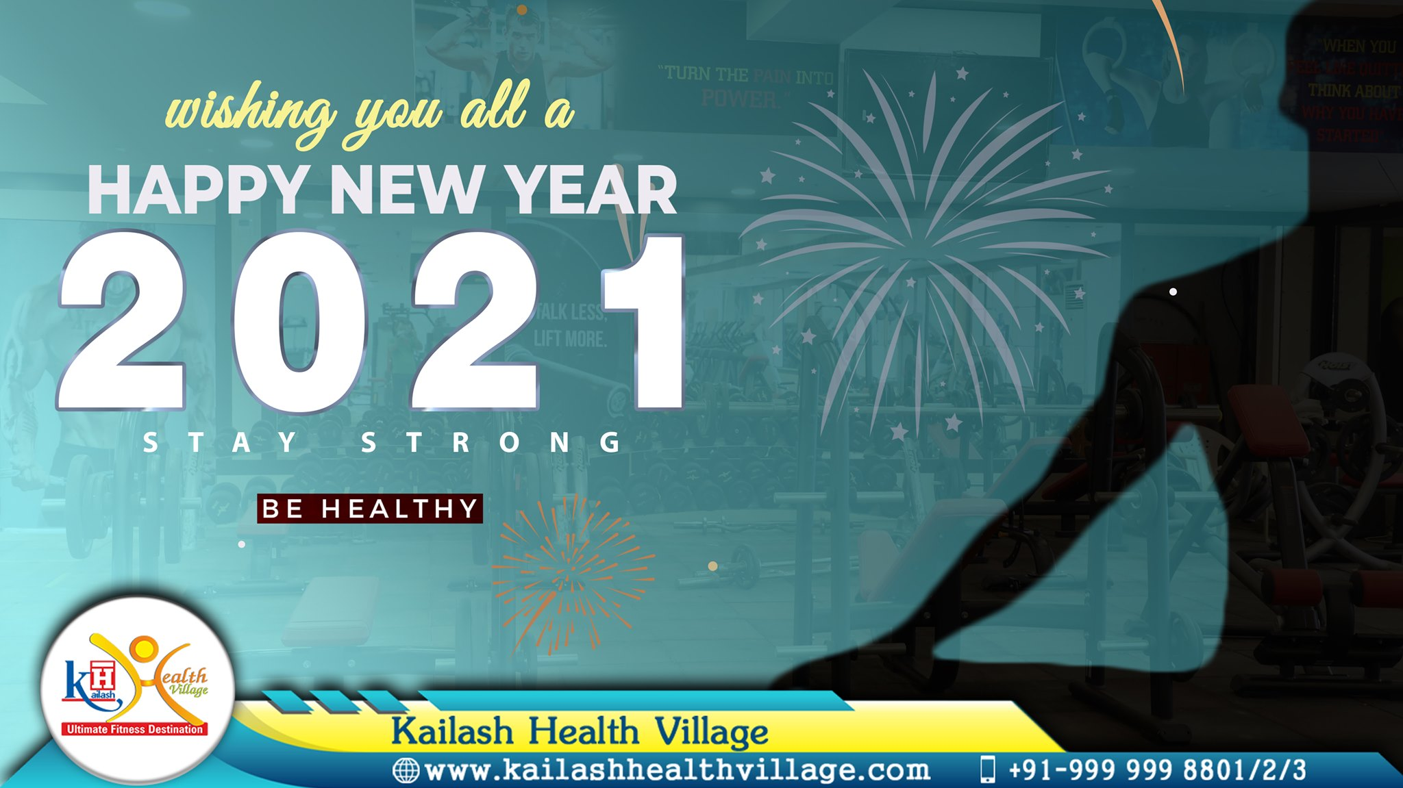 Kailash Health Village wishes you all a Happy & Prosperous New Year.