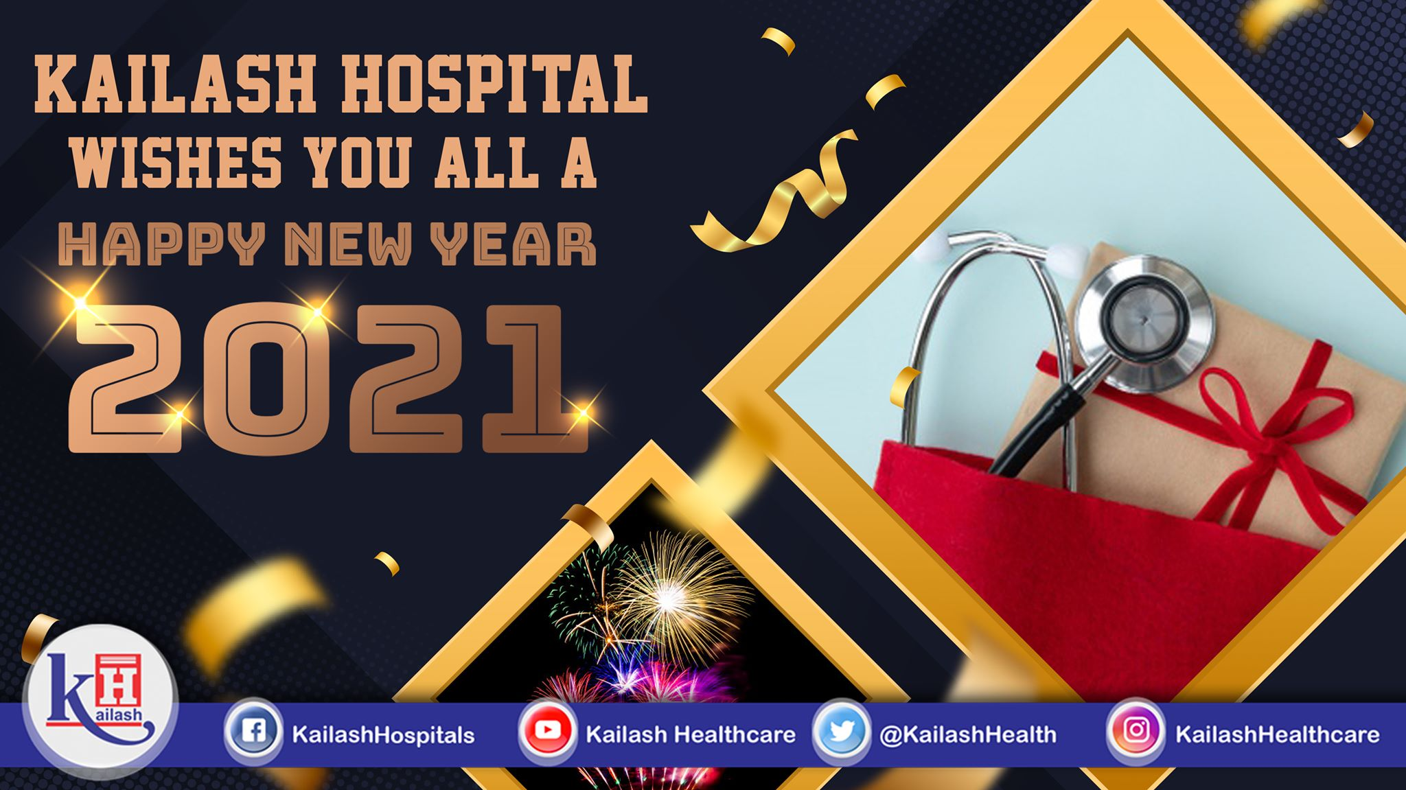 Kailash Hospital & Neuro Institute wishes you all a Happy & Prosperous New Year.