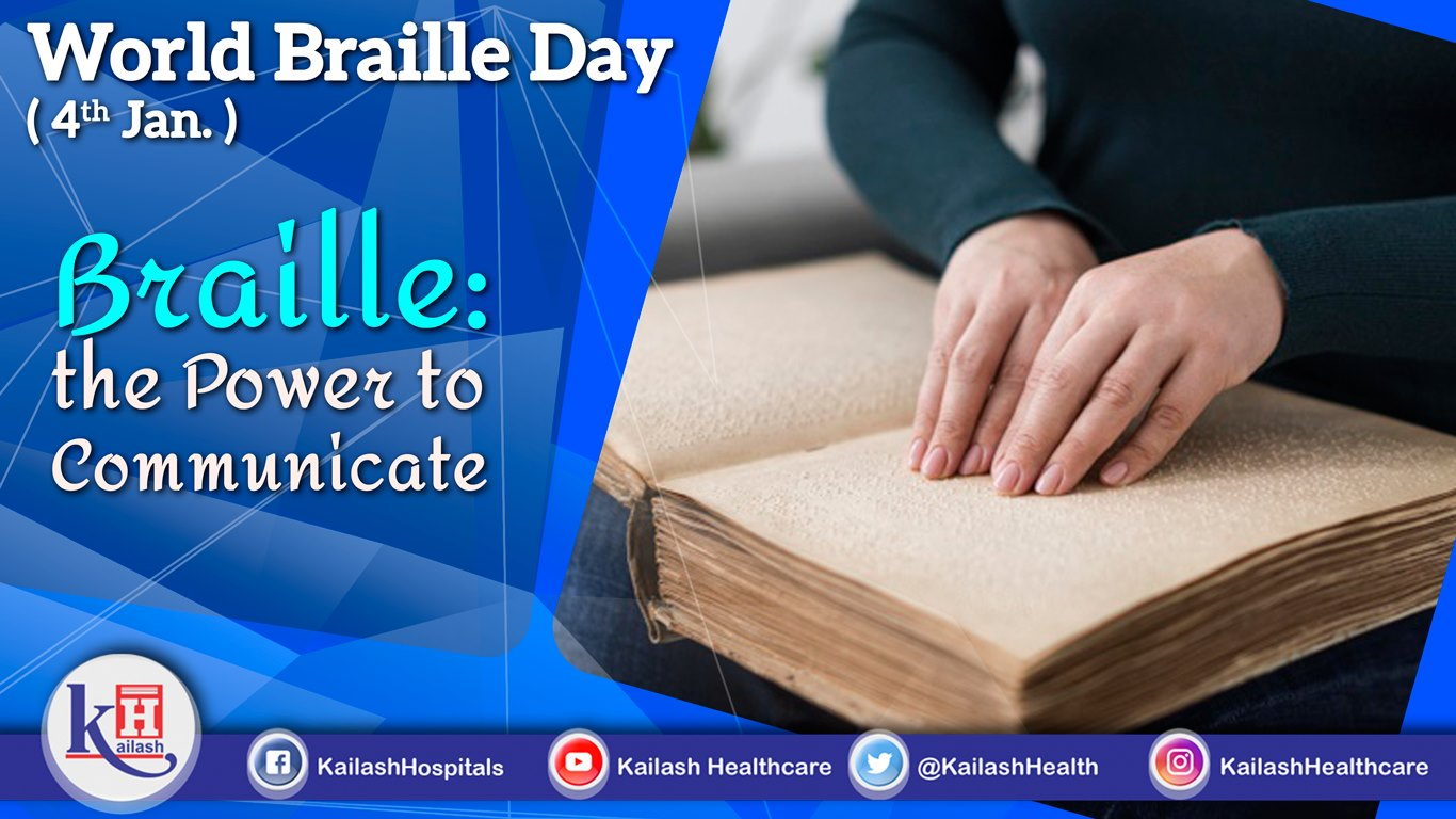 On World Braille Day, let's strive to encourage Braille education, the power to communicate.