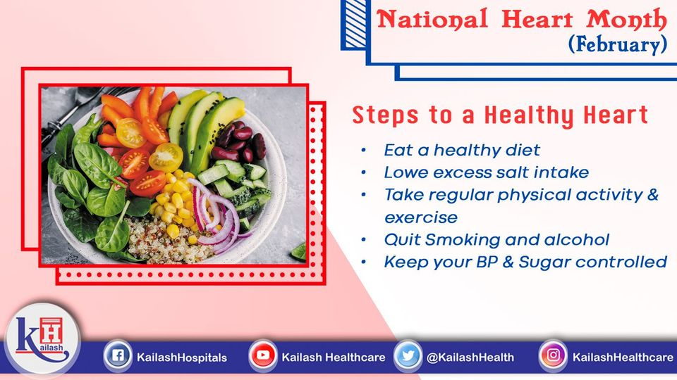 Keeping your heart healthy is important to stay healthy!Follow a healthy Lifestyle, keep your heart healthy!