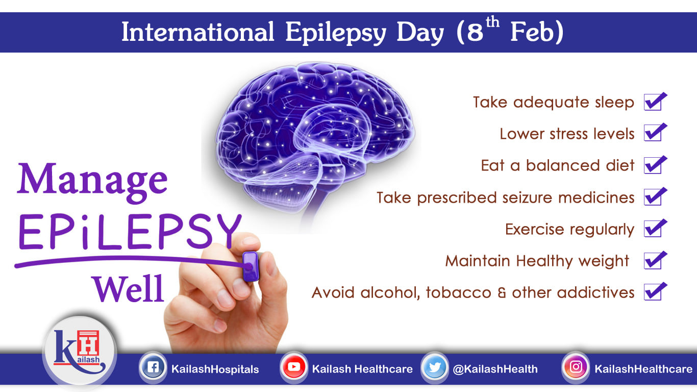 Healthy Lifestyle & nutritious diet can help manage Epilepsy. There are many more ways to prevent & manage epilepsy.