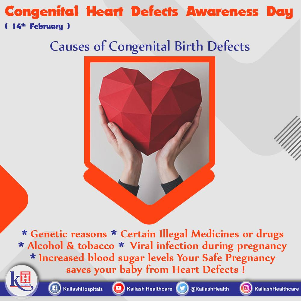 Most of the Congenital Heart Defects can be prevented during early pregnancy