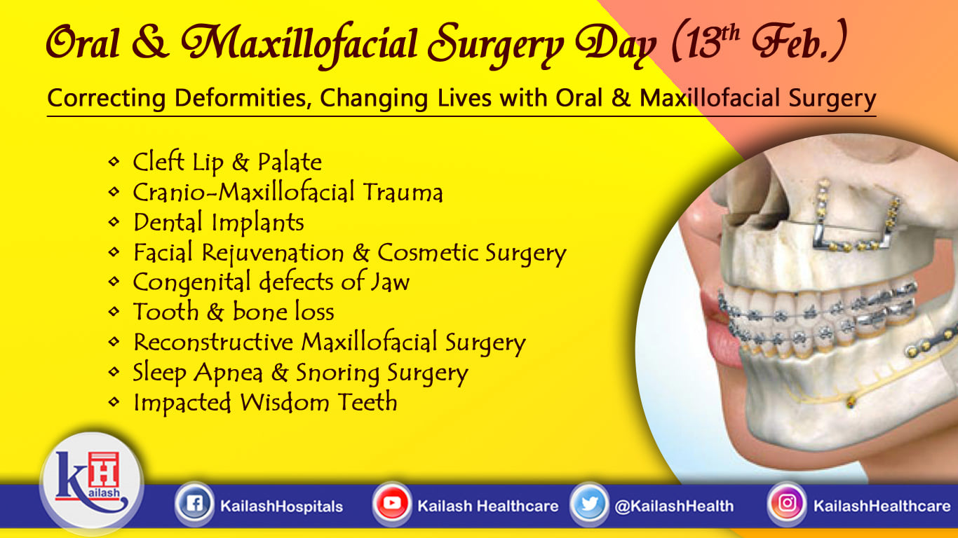 Oral & Maxillofacial Surgery is a ray of hope for all Birth defects, Implants, Dental trauma and reconstructive surgery.