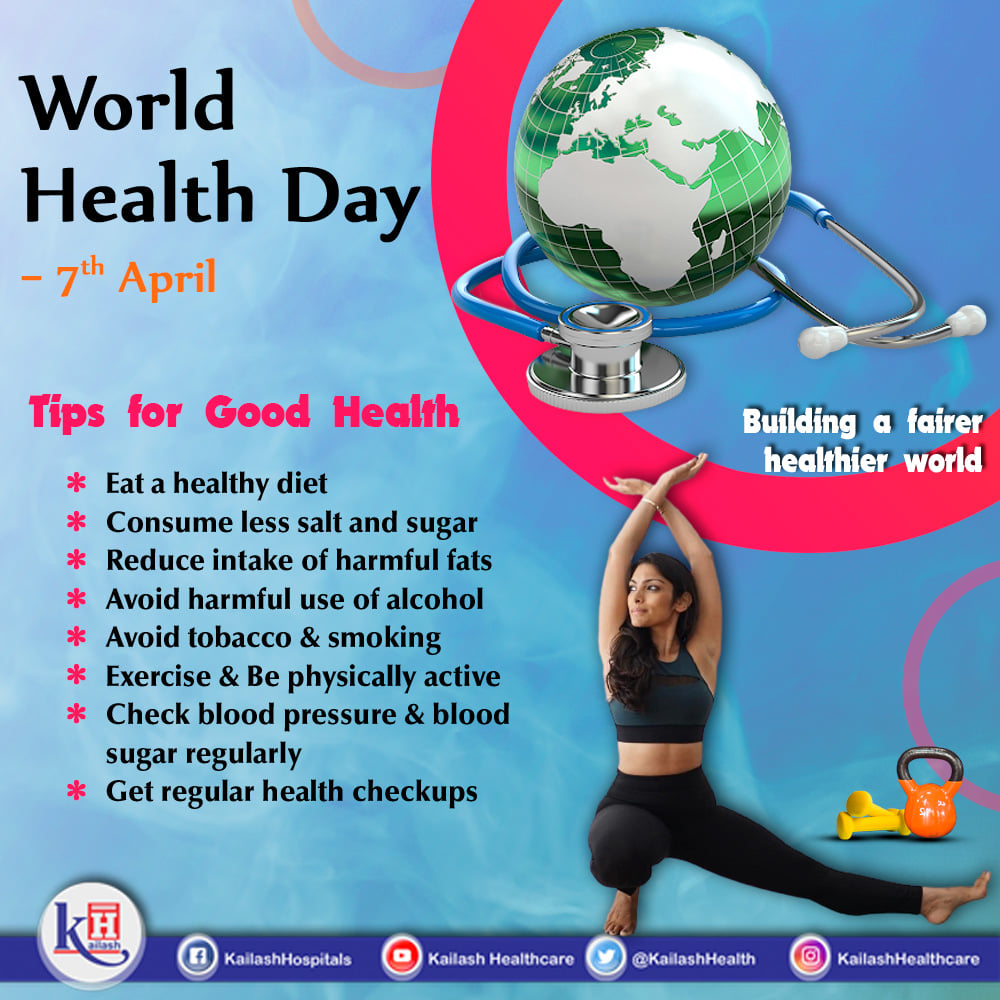 This World Health Day, Let's pledge to build a fairer Healthier World for all.