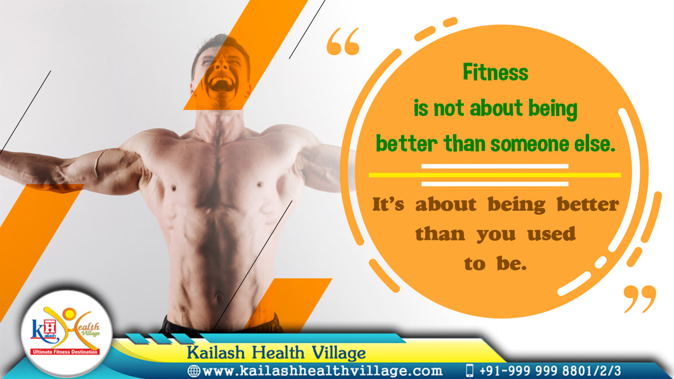 Be the best version of You....more Stronger & Healthier than you were. Join the Best Gym of Noida, Kailash Health Village.
