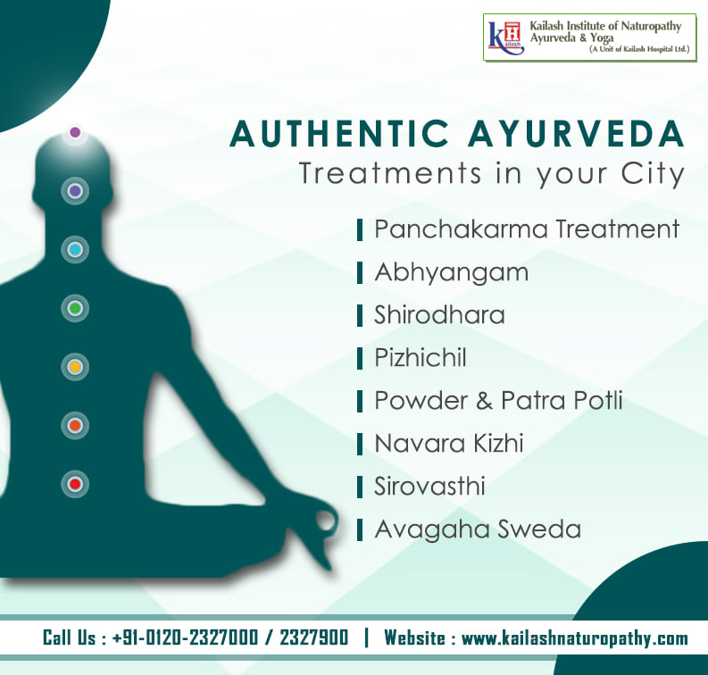KINAY brings authentic Ayurveda treatments in your city to give you a Healthy & Disease-free life.