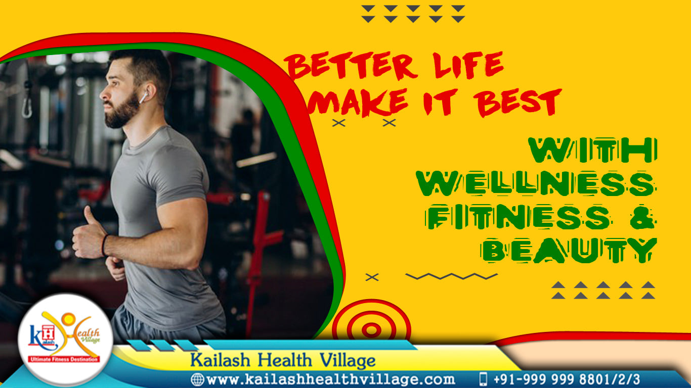 The Best way to build a personality is to invest time in Good Wellness & Fitness Centre.