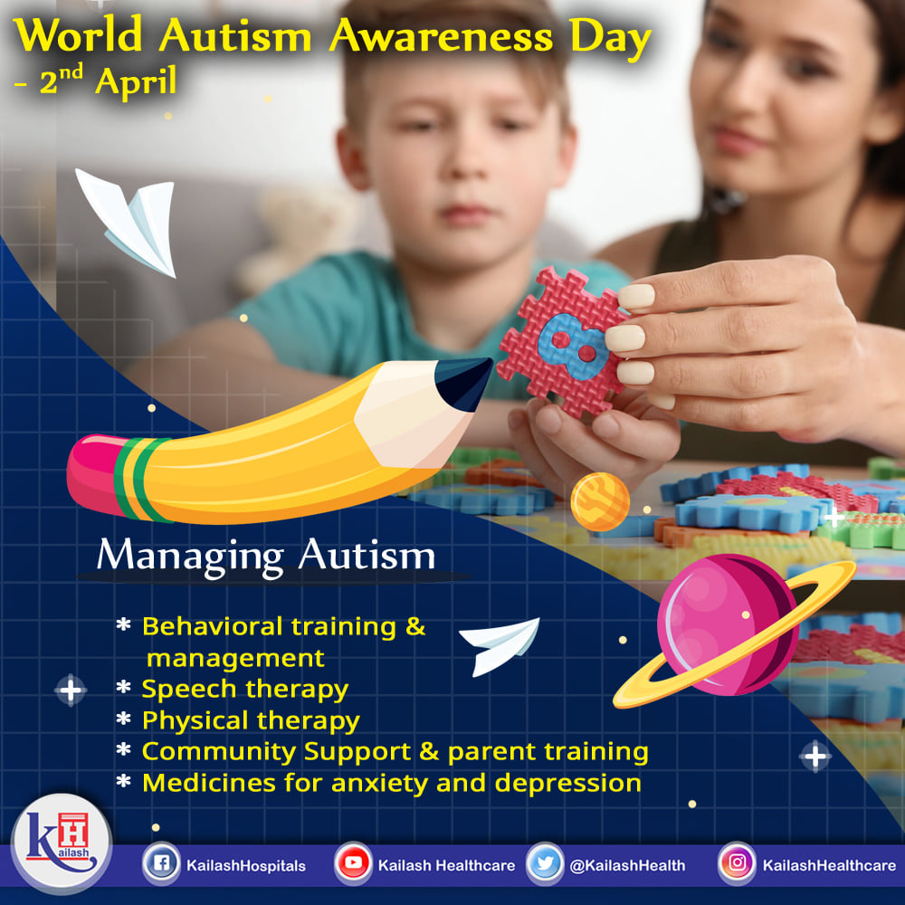 There may be no curative treatment for Autism, but it can be well managed by Child Psychologists through applied behavioral analysis and parent training.