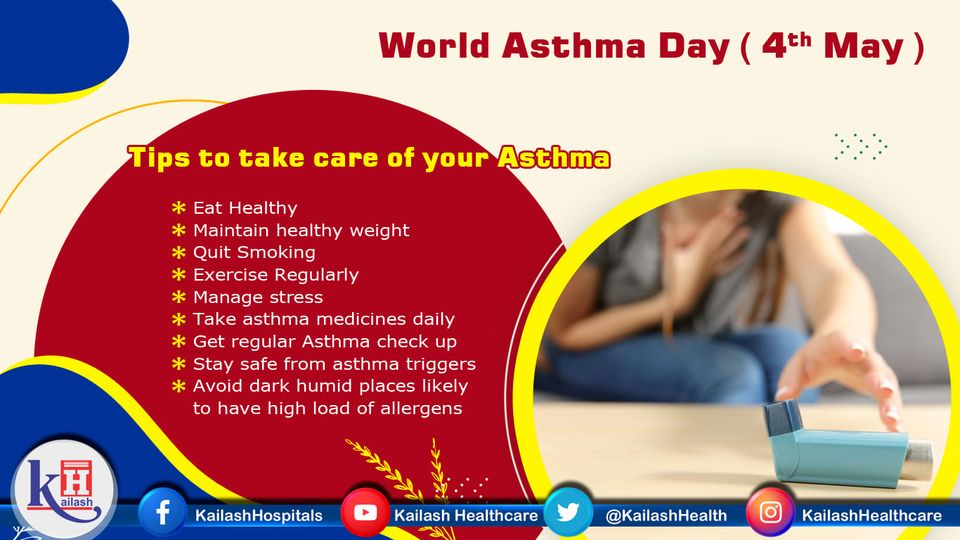 Asthma can be well managed through care. Here are some vital tips to keep your asthma under control.