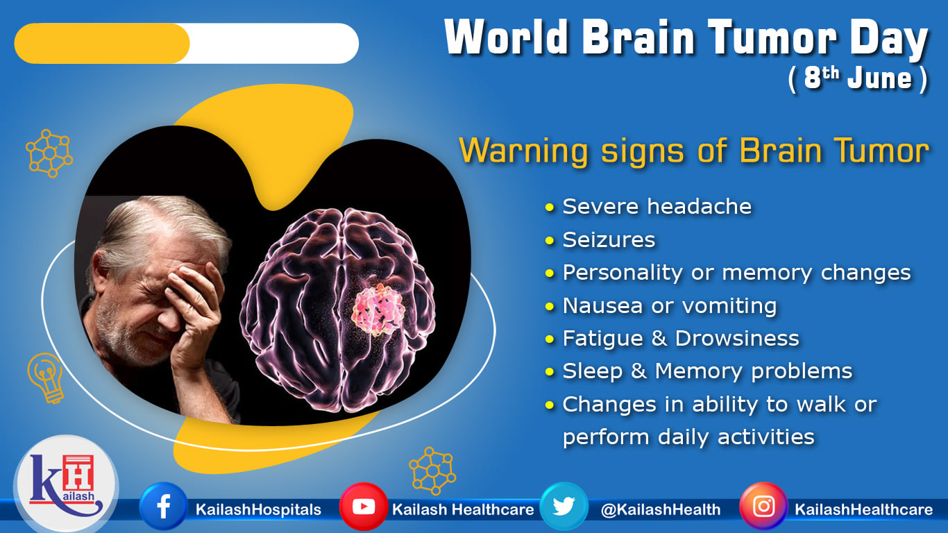 A Brain Tumor can form in the brain cells and spread to the brain. creating pressure on the brain. Know about the warning signs.