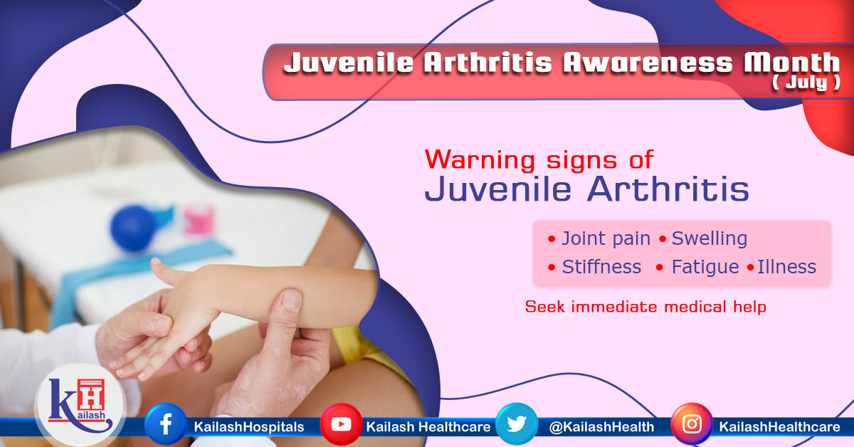 Juvenile arthritis is an autoimmune disease causing inflammation of the synovium (tissue that lines the inside of joints) in children aged 16 or younger.