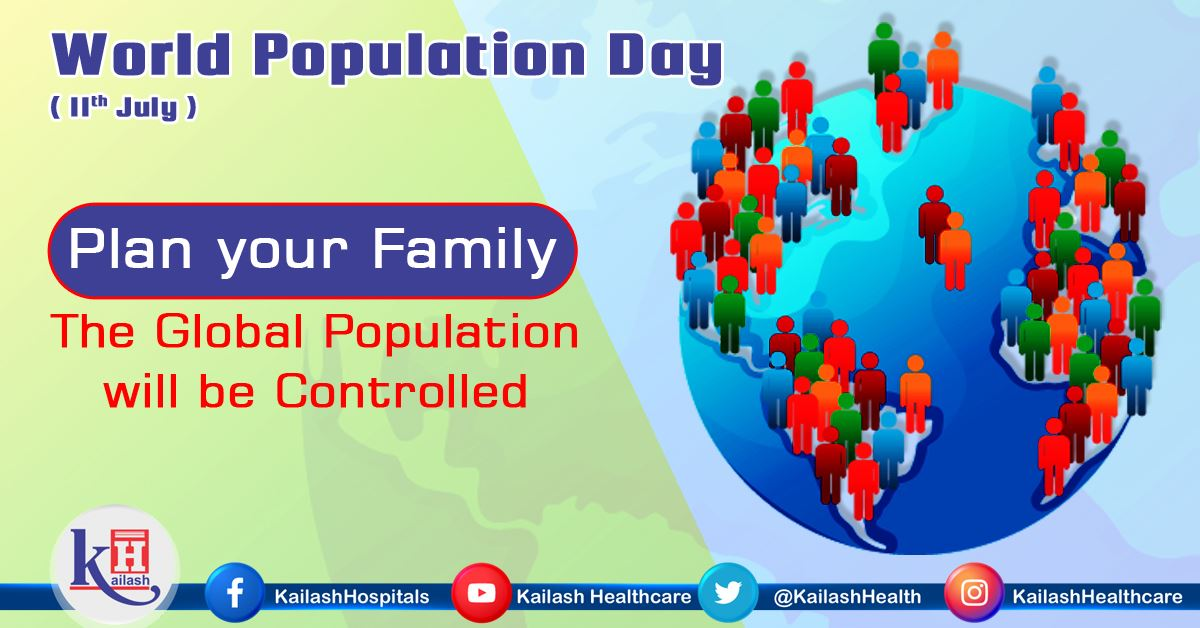 This year World Population Day emphasizes on 'the impact of the COVID-19 pandemic on fertility'.